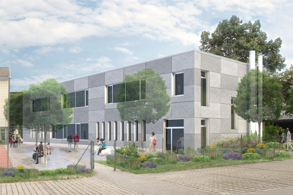 Visualisierung Franz-von-Kohlbrenner-Mittelschule